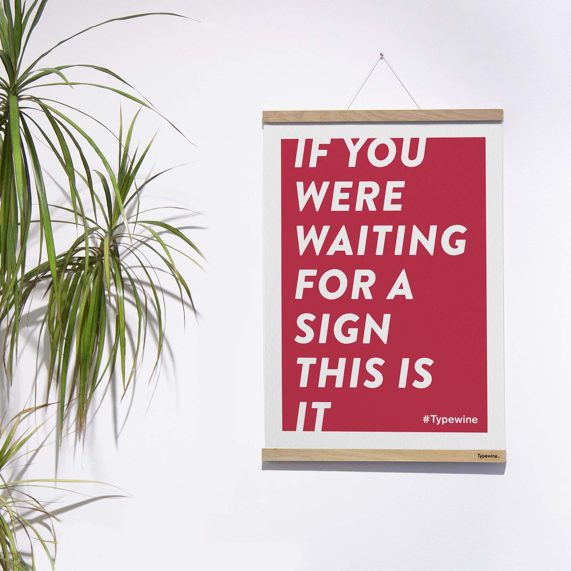 Typewine Poster
