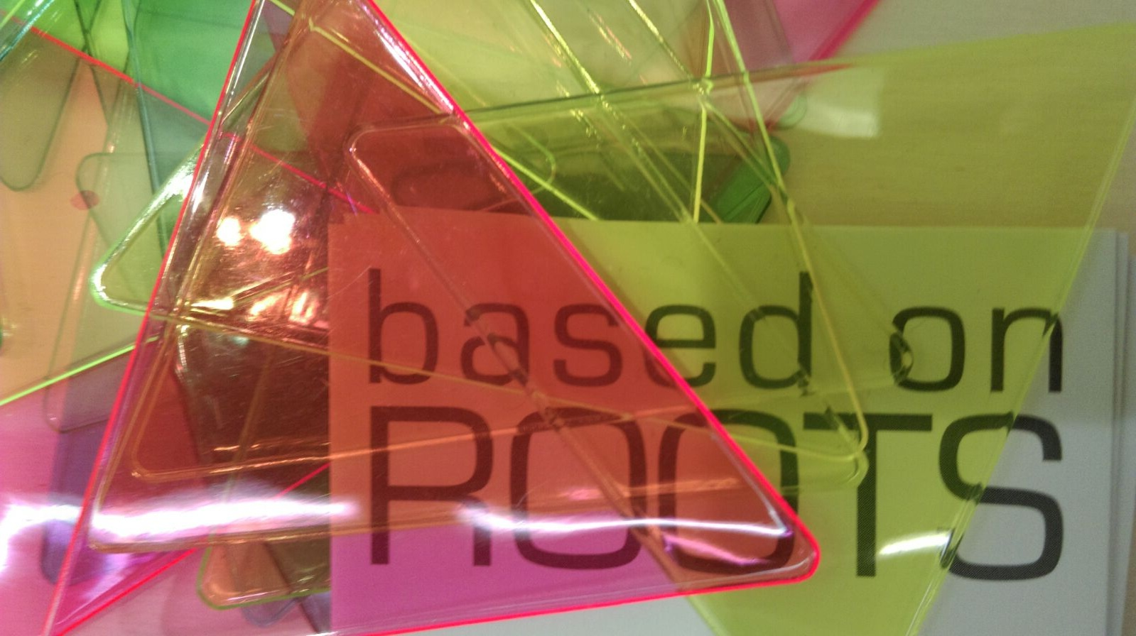 SAN KAKU MADO window mosaic