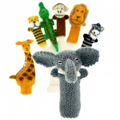 Finger puppets mix 100