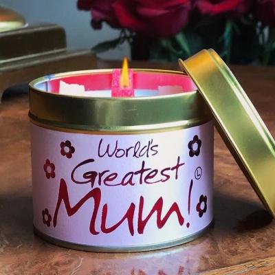 Greatest Mum kaars