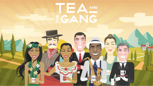 TEA AND THE GANG