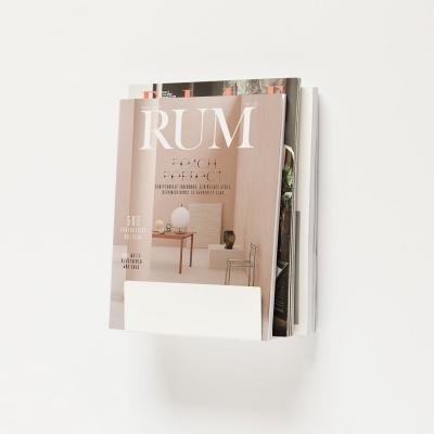 Magazine holder / white