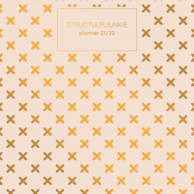 Oranje planner - Academisch jaar 2021/2022 (A4)