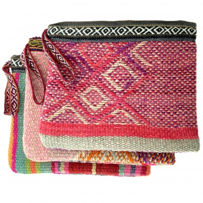 Case, recycled blankets
