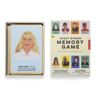 Iconic Women Matching Game