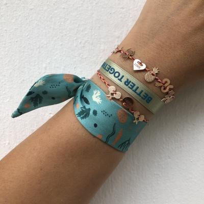 Silk and Satin Bracelets