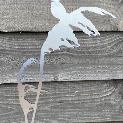 Corten steel reed 90 cm
