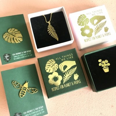 Ecofriendly jewelry