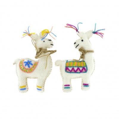 Llama decoration
