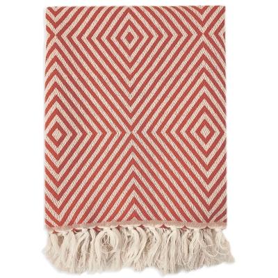 Wool/Cotton Plaid Blanket Oslo 120X150cm