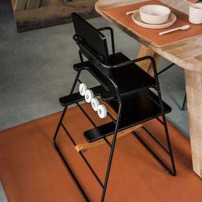 Rust square floormat