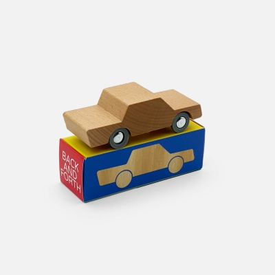 Wooden Toy Car - Back & Forth Woody