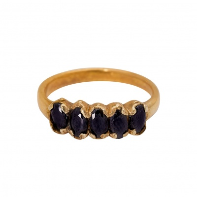 Ocean ring brass