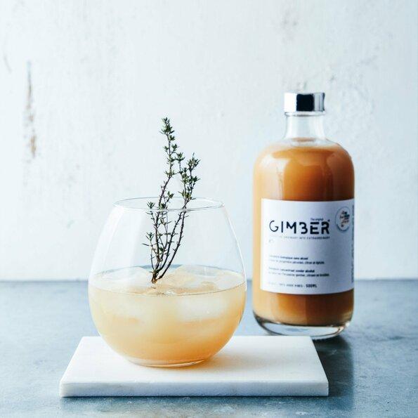 """<h1>GIMBER</h1>  <h2>A.28-c<br /> <a href=""""https://gimber.be/"""">gimber.be</a></h2>  <p>GIMBER is het biologische alternatief voor alcoholische dranken. Het concentraat bestaat uit biologische Peruaanse gember, citroen en kruiden. Deze combinatie van ingrediënten zorgt voor een verassing voor je smaakpupillen.</p>"""